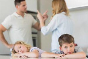 子どもの前で夫婦喧嘩