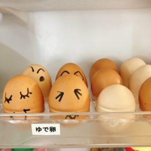 冷蔵庫のラベリング